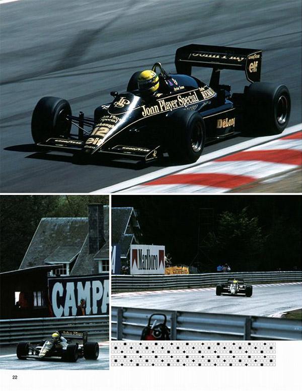 Ayrton Senna Lotus Renault F1 Formula 1 Photograph JPS 1985 GP 97T 98T